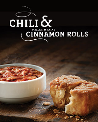 Chili and Cinnamon Rolls