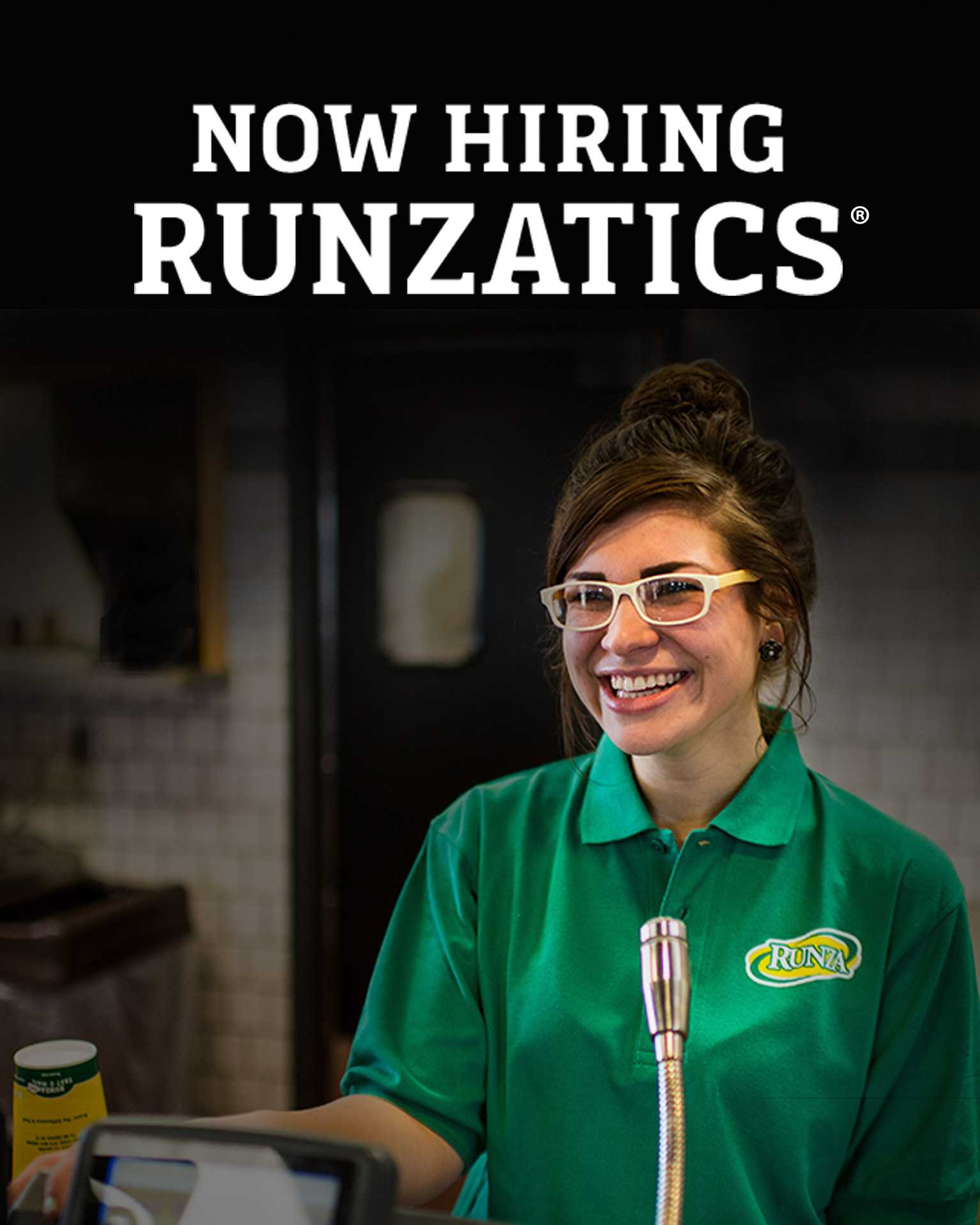 Now Hiring Runzatics