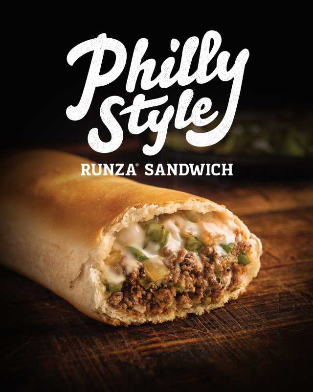 Philly Style Runza Sandwich
