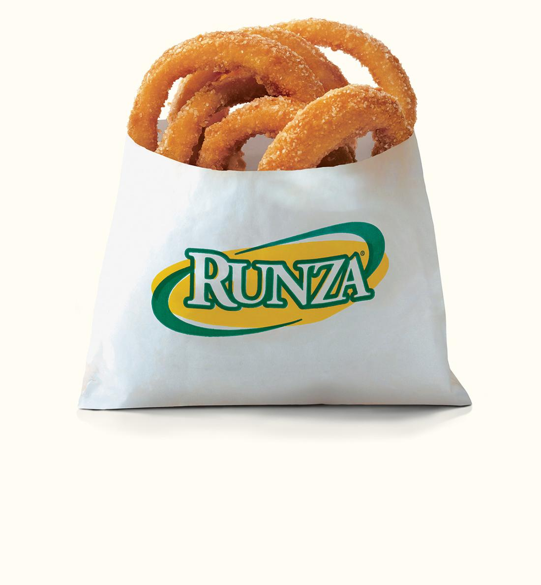 handsliced onion rings runza