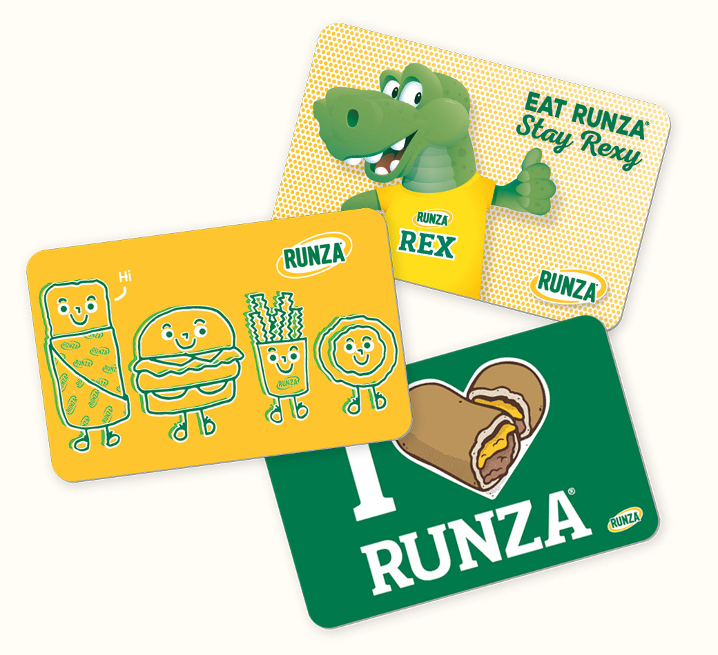 Runza® Gift Cards