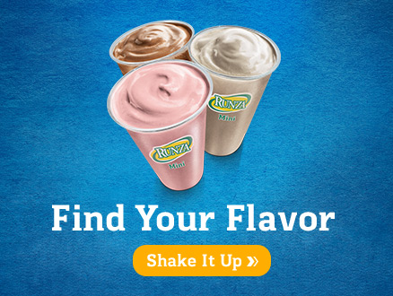 Runza Callout $1 Shakes