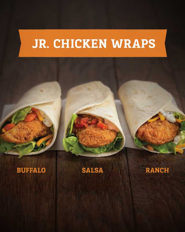 Junior Chicken Wraps