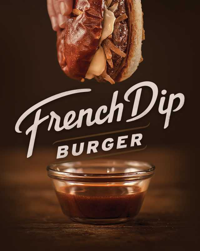 French Dip Burger