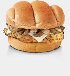 Smothered Grilled Chicken Sandwich