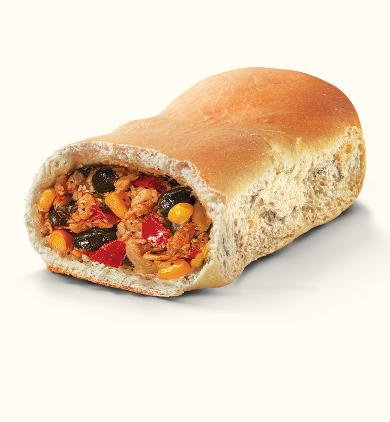 Southwest Black Bean Vegetarian Runza® Sandwich